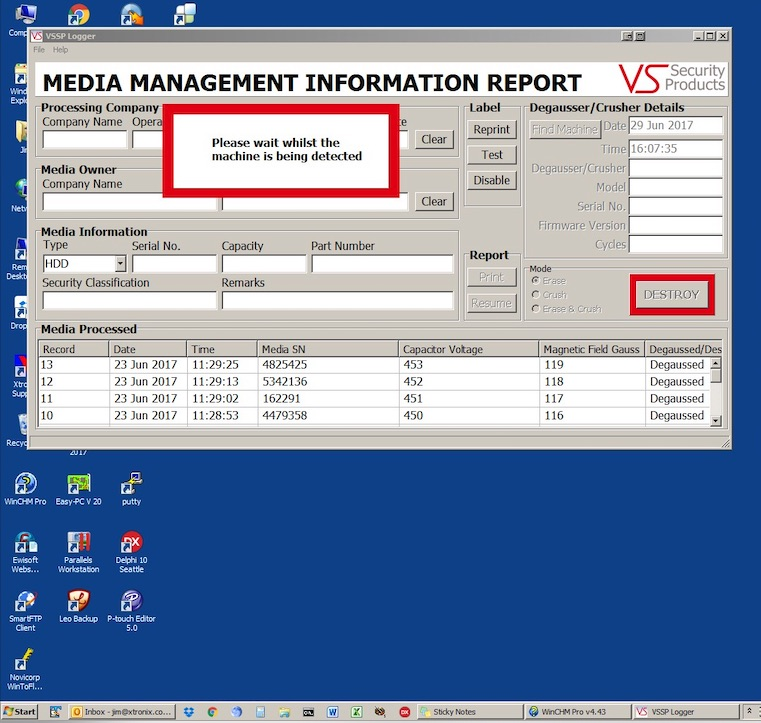 detecting-degausser-machine-with-Data-Destruction-software